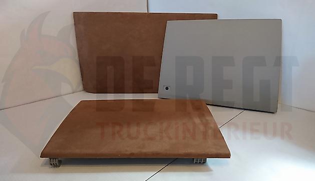 Kastdeurhoezen (3-delig) Next Generation Scania S-serie - Truckinterieur De Regt    Vrachtwagenbekleding voor Scania, Volvo en DAF   Stadskanaal