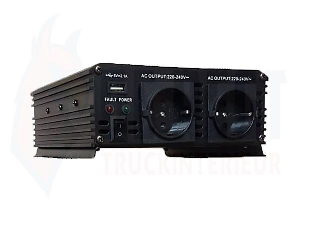 Omvormer 1000 watt - Truckinterieur De Regt
