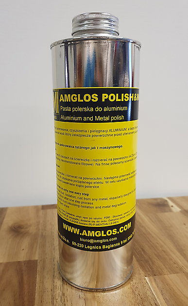 Amglos aluminium polish, 1 kg - Truckinterieur De Regt