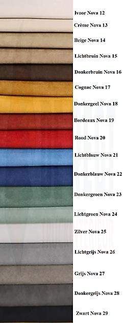 Proefstukje Nova-stof - Truckinterieur De Regt