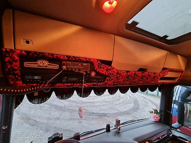 Tachograafkap Scania Next Generation R en S - Truckinterieur De Regt