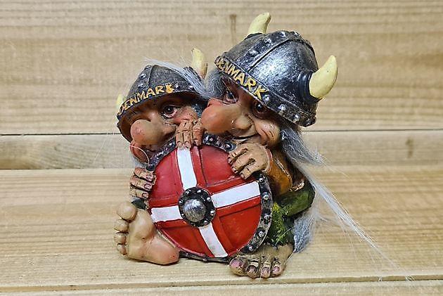 Deense trollen met Deense schild - Truckinterieur De Regt