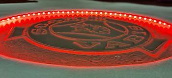 Tunnelhoes met verlicht logo Truckinterieur De Regt